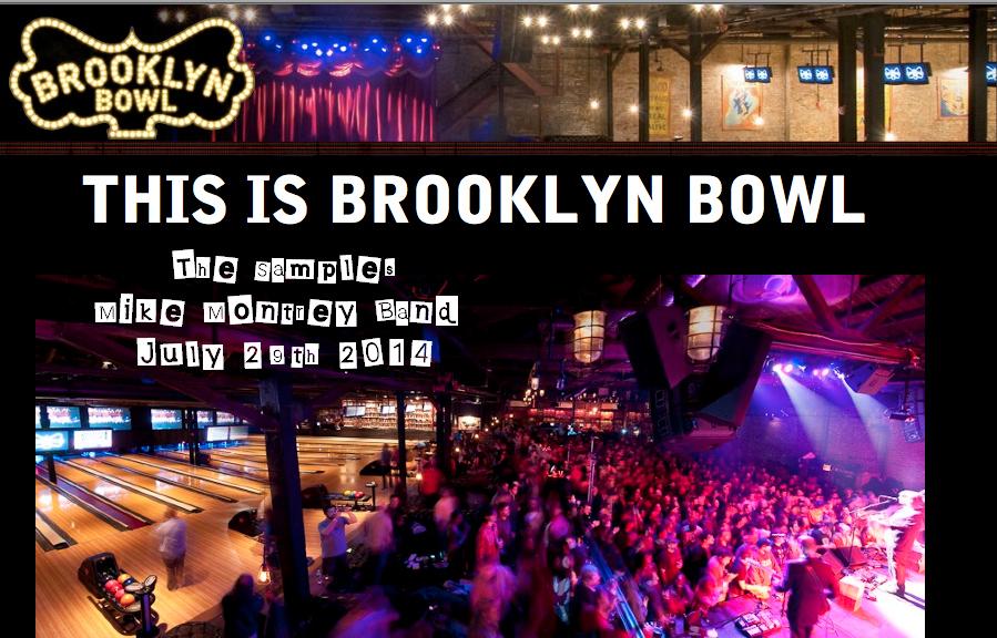 Brookyln-Bowl Poster